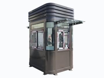 Bốt gác cao cấp khung thép dành cho toà nhà
