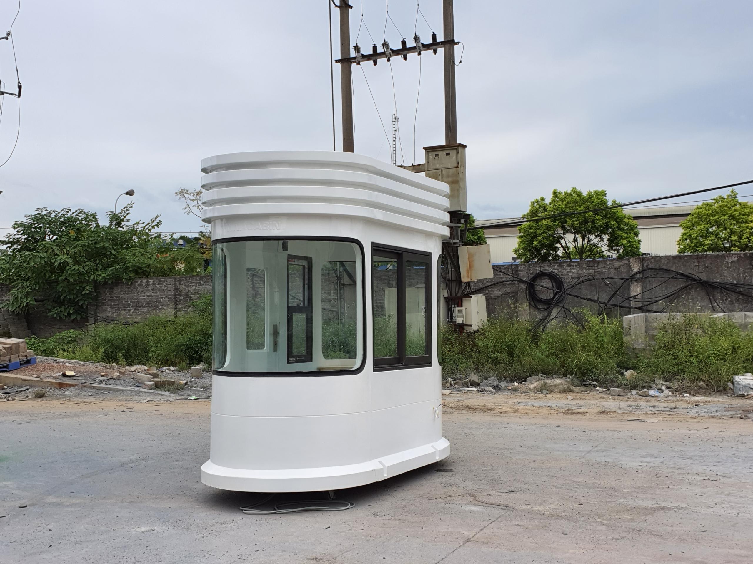 Lắp đặt cabin thu phí tại Thái Nguyên
