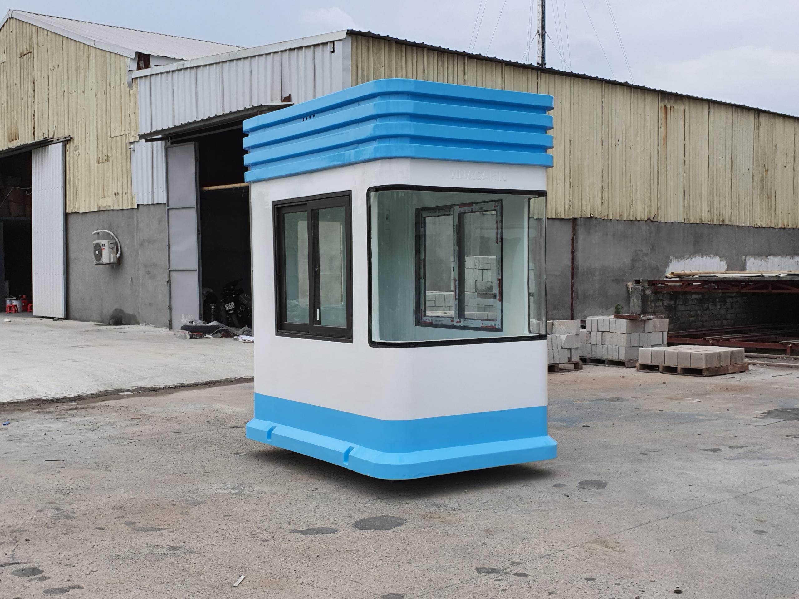 Lắp đặt cabin thu phí tại Tây Ninh
